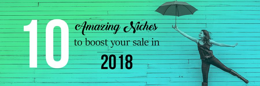 10 Amazing niche products to sell online and boost your sale in 2018
